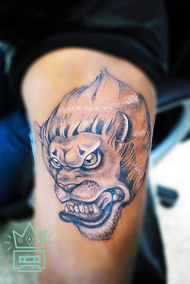 #tattoo #tatuaje #león #lion