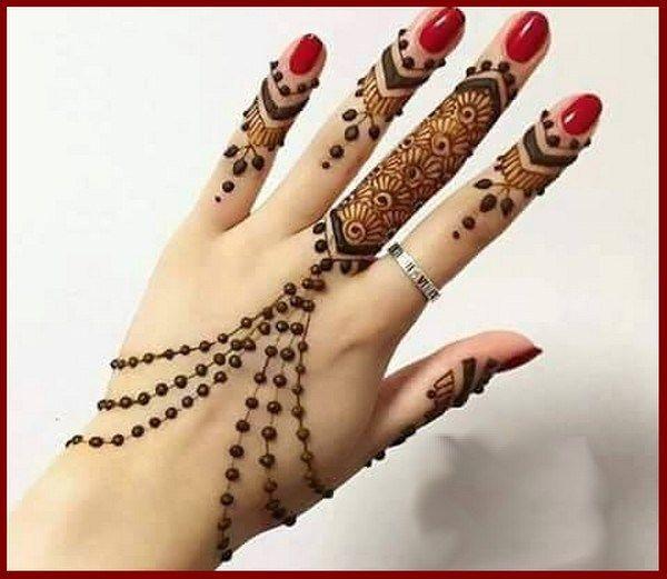 Latest Mehndi Designs For Fingers Only Latest Mehndi Designs
