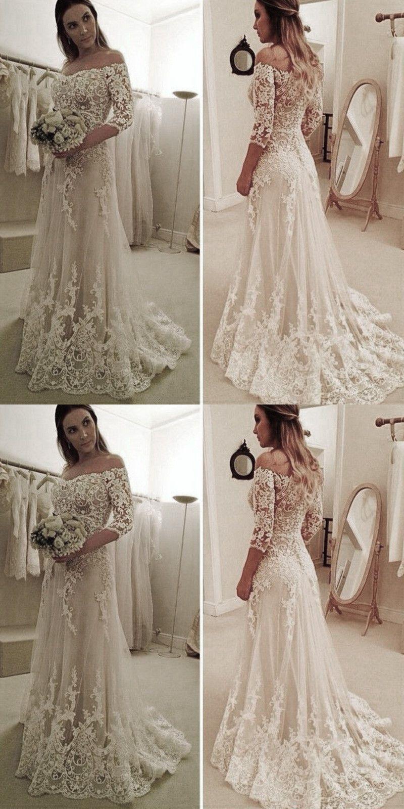 Elegant Illusion Neck Wedding Dresses With Lace Train Wedding Tulle Wedding Dress Wedding Dresses Lace Perfect Wedding Dress [ 1600 x 800 Pixel ]