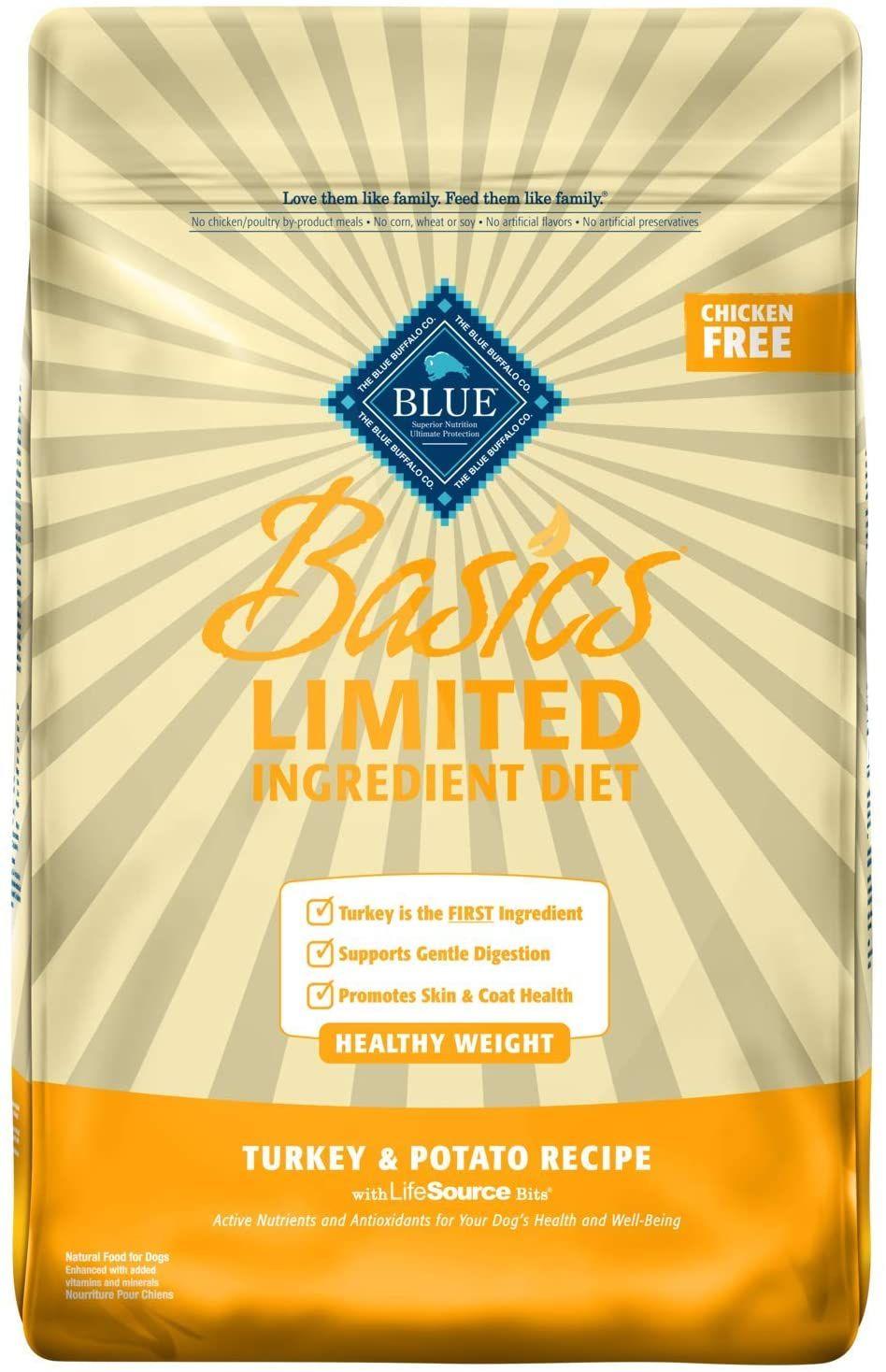 Blue buffalo basics limited ingredient dietnatural adult