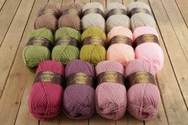 Lily Pond Cherry Blossom Cal Pack Stylecraft Special Dk