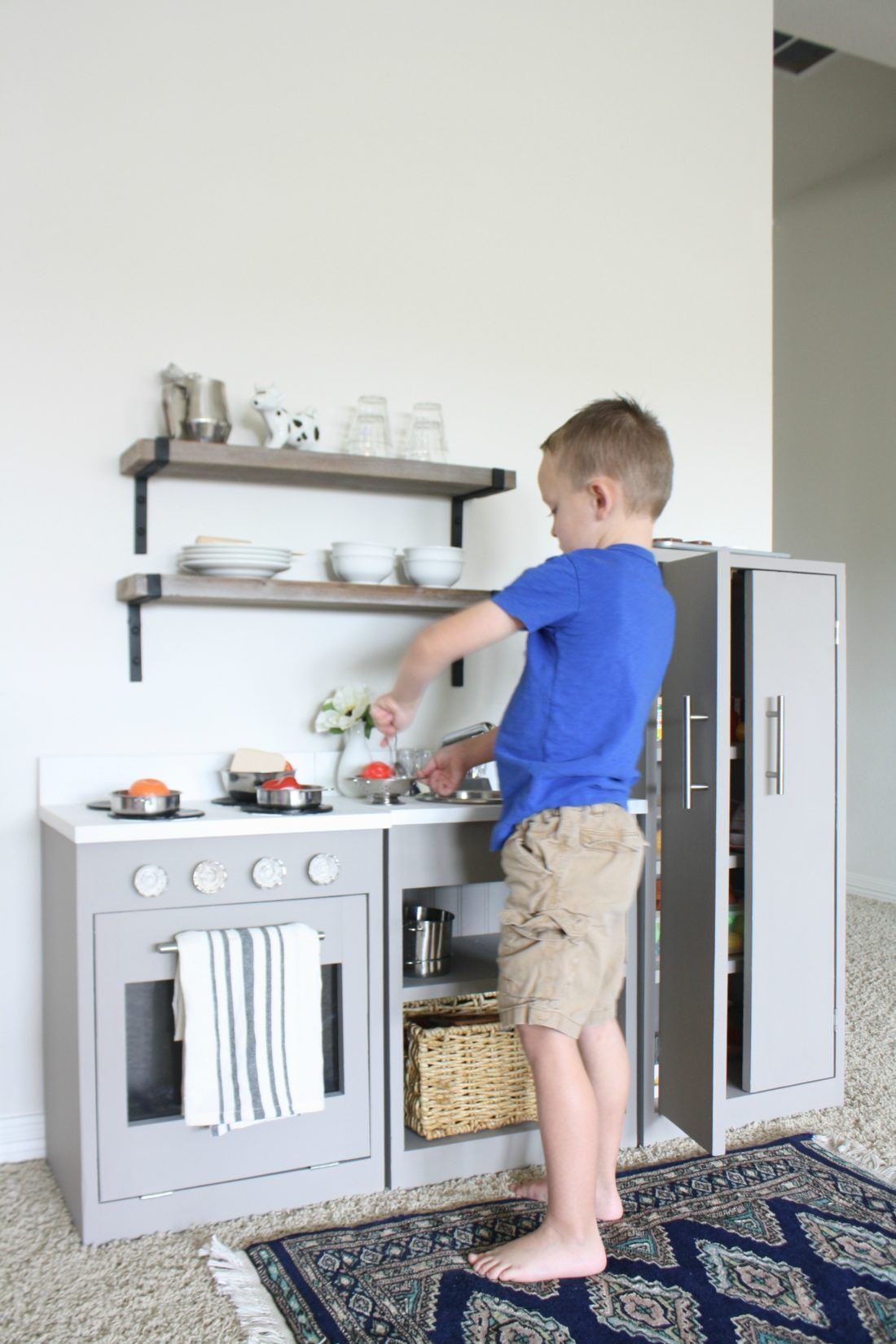 Play Kitchen Makeover | Playrooms, Plays and Kitchens