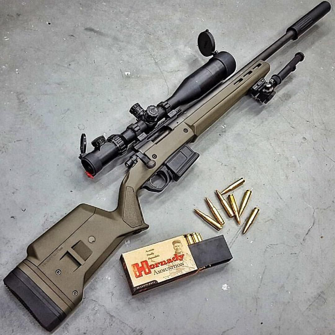 Remy 700 in Magpul Hunter Stock
