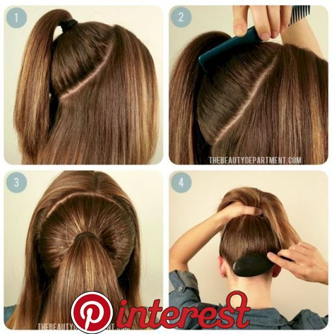 8 Easy Hair Tips To Give Your Ponytail Volume   1. Clip MethodIf you have one of these handy hair clips, you can give yourself a fuller ponytail in no time.2. #fullerponytail 8 Easy Hair Tips To Give Your Ponytail Volume   1. Clip MethodIf you have one of these handy hair clips, you can give yourself a fuller ponytail in no time.2. #fullerponytail