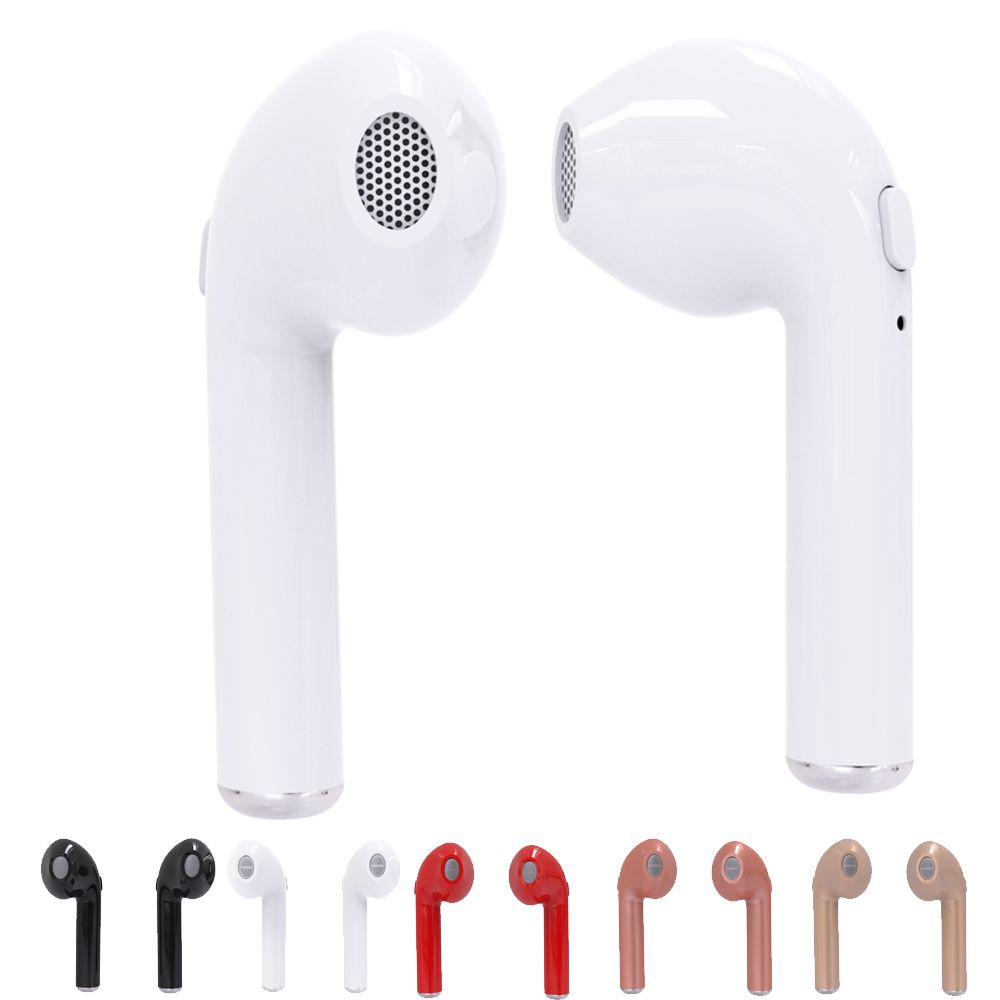a180ada240f8d8 HBQ i7 TWS Twins Wireless Earbuds Mini Bluetooth V4.2 Stereo Headset  earphone For Iphone