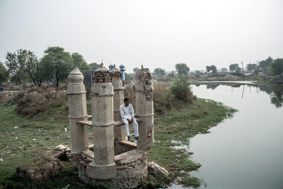 インド北部のハリヤナ州で暮らすソンビール・サインさん(38、写真)は12年間、花嫁を探し続けている