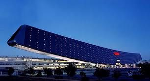 Sanyo's Solar Ark - Biggest pv integrated building, reaching the stunning peak of 630kwp