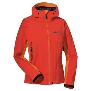 buy online c4665 6ed56 Jack Wolfskin Summiteer Jacke Damen SPICY ORANGE M günstiger ...