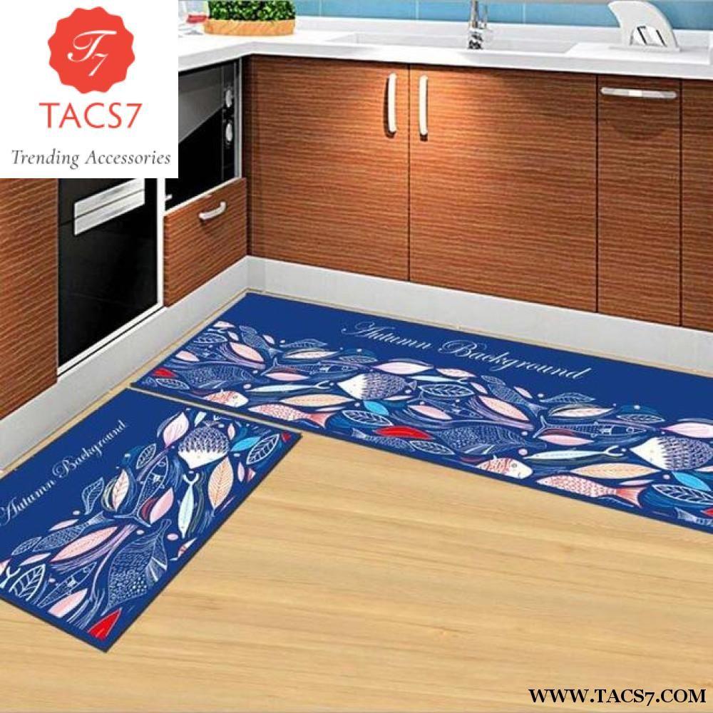 Kitchen Carpet Sets Surplus Appliances 2pcs Set Non Slip Mat Carpets 40 60cm 120cm Products Bathroom Rug Bedroom Floor Soft Bedside Footcloth Corridor