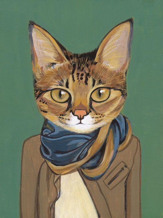 Nekolady Cat Art Cat Drawing Cat Portraits