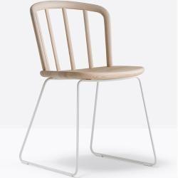Photo of Pedrali Nym 2850 chair black stained walnut PedraliPedrali