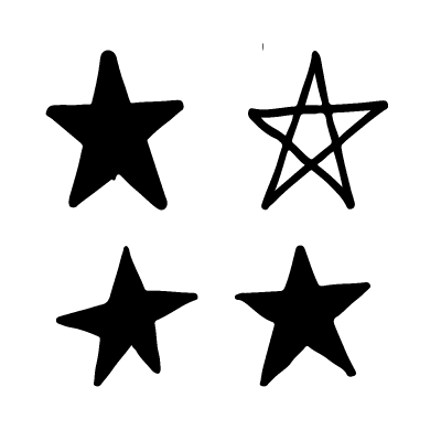 Hand Drawn Star Doodle Star Doodle How To Draw Hands Drawing Stars