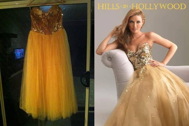 Another Fake Prom Dress
