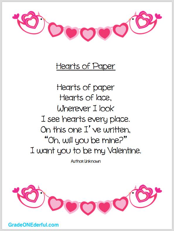 Valentine Poem And Clipart Freebies Valentines Poems Valentines Day Poems Friends Valentines Day