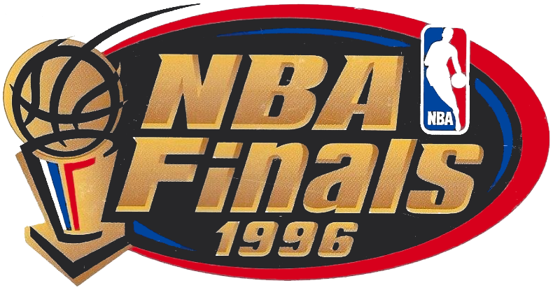 NBA Playoffs Champion Logo (1995/96) - 1996 NBA Finals ...