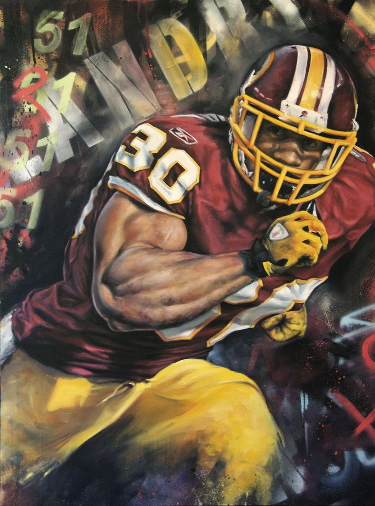 Laron Landry Washington Redskins By Jack Labadie Washington