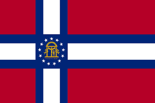 Flag Of Georgia Flag Art Flags Of The World Flag Design