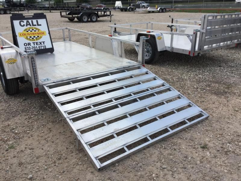2017 Rance Aluminum Trailers 10 X 5 5 Trailer Utility Aluminum Single Axle Utility Trailer Countryside Tra Aluminum Trailer Utility Trailer Trailers For Sale