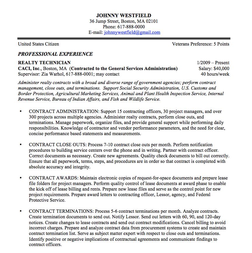 Resume Format For Usa Jobs Format Resume Resumeformat Federal Resume Job Resume Template Job Resume Samples