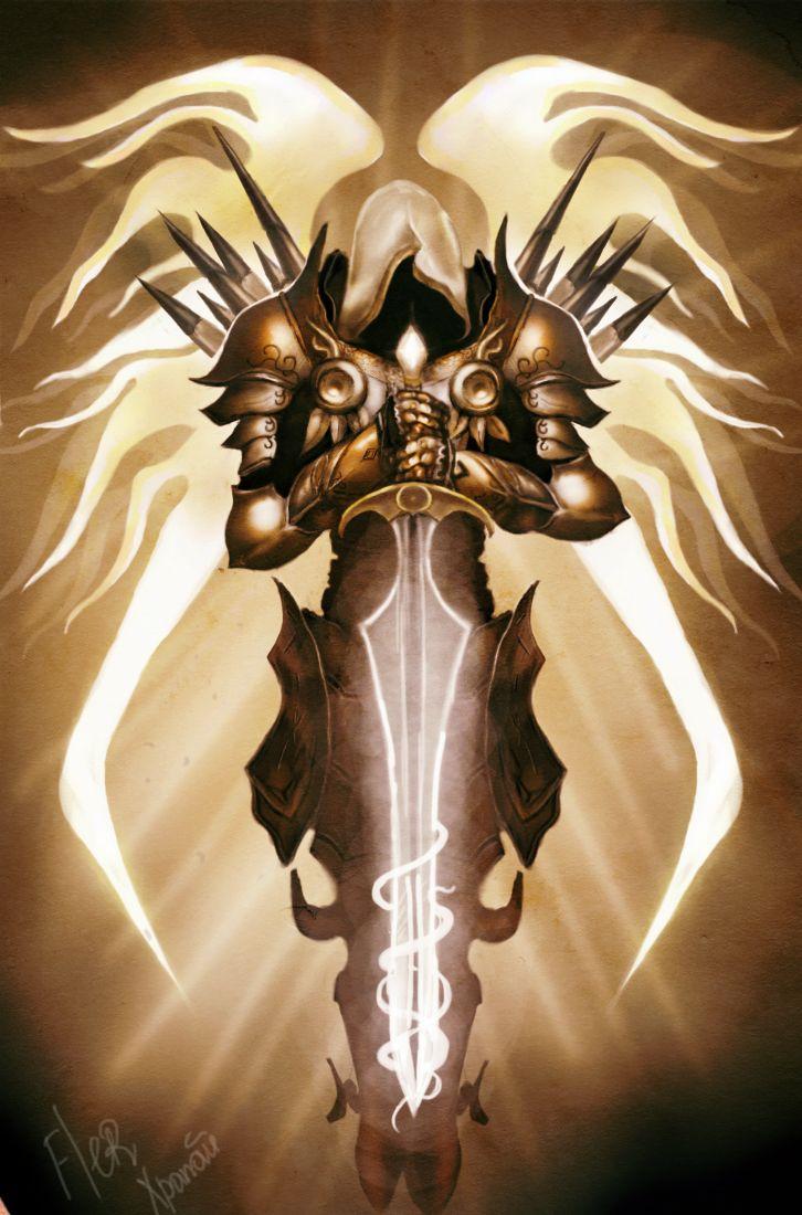 Angels Archangel Archangel Tyrael Diablo Diablo III P