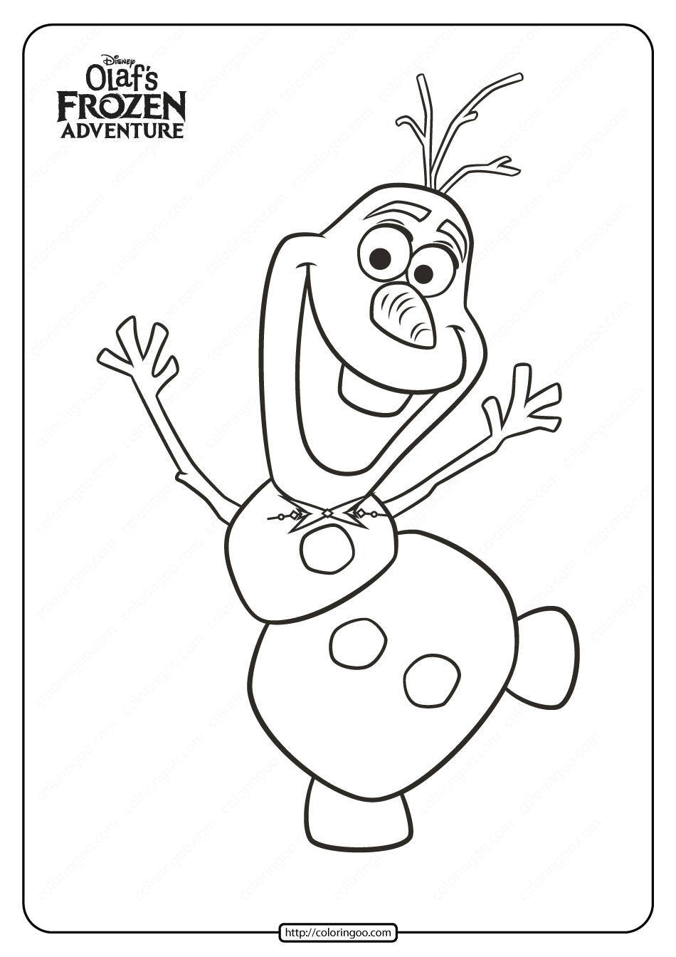 Disney Olaf S Frozen Adventure Coloring Pages 03 In 2020 Coloring Pages Elsa Coloring Pages Disney Olaf