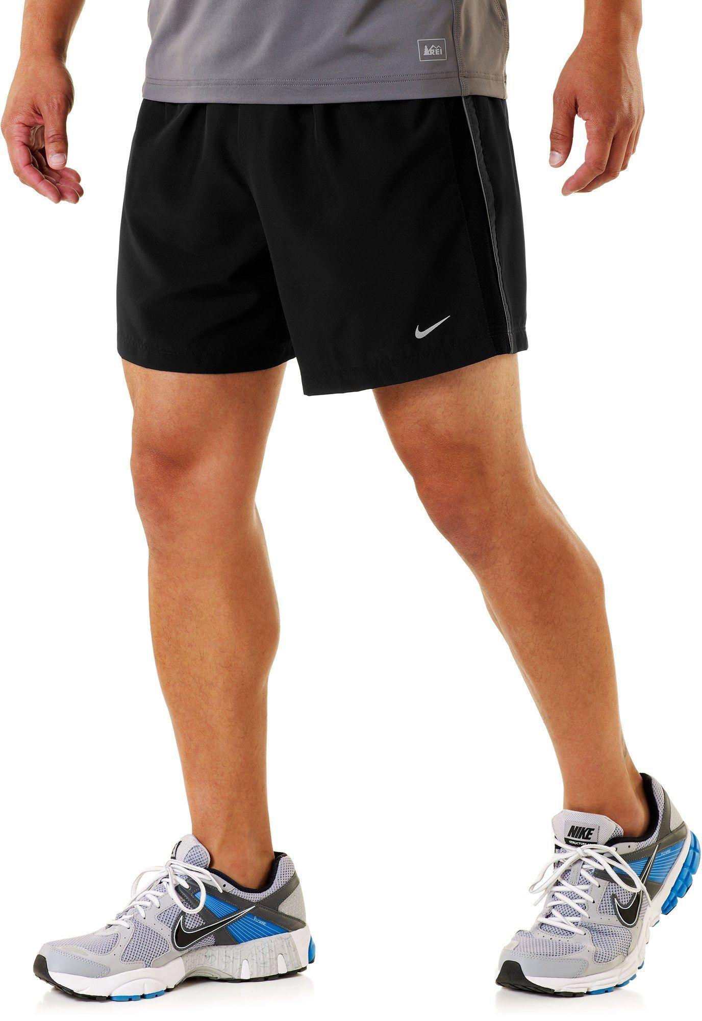 Nike fiveinch woven reflective shorts mens at
