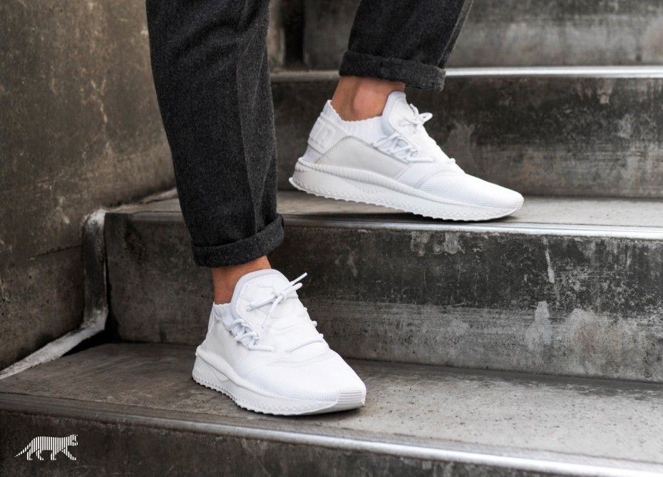 Puma Tsugi Shinsei White Available Via : - Asphaltgold - END. Clothing -  Overkill -