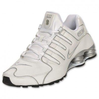 brand new 9ab15 30a3f Tênis Nike Shox Men s Shox NZ SL SI Running Shoe White Silver 366363 111   Tenis  Nike