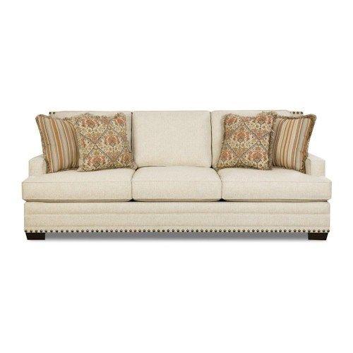 Corinthian Sugarshack Linen Sofa
