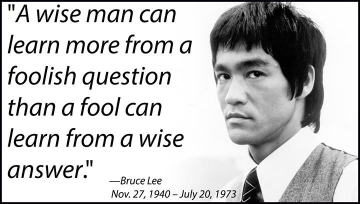 I Didn T Know I Shared A Birthday With Bruce Lee Jimi Hendrix I Knew That One But Hooray For Bruce Lee This Or That Questions Great Quotes Learning Quotes