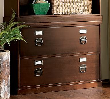 Elegant Davidu0027s Office   In Grey Or Antique WhiteBedford Lateral File Cabinet # Potterybarn