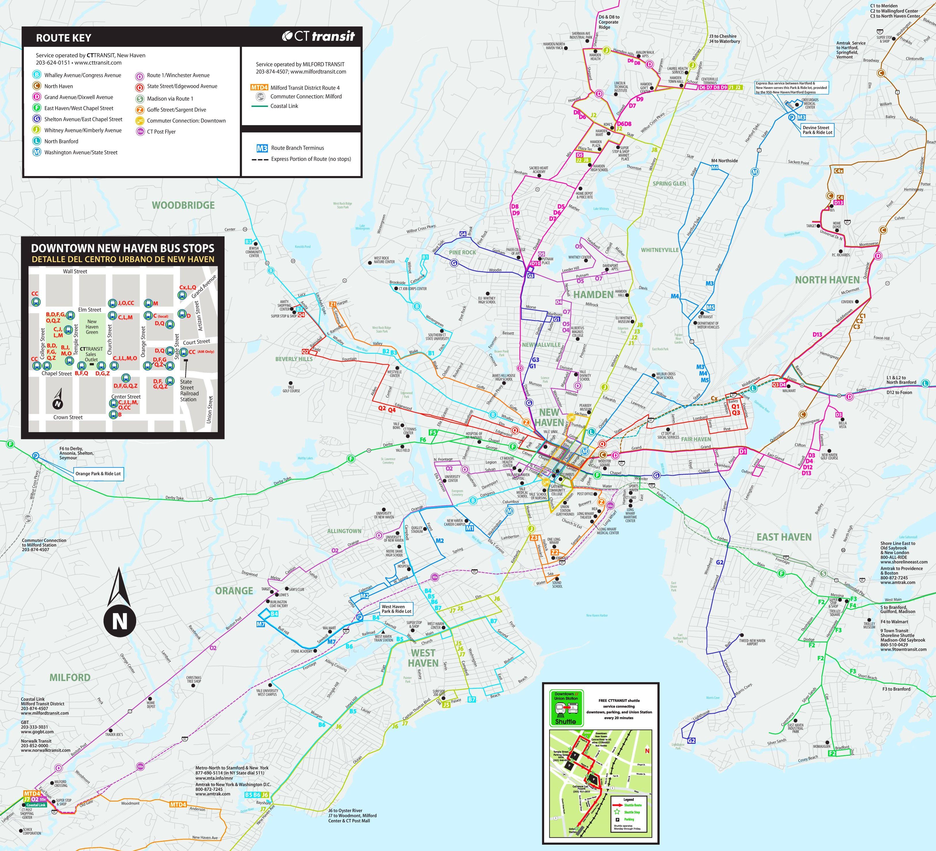 new haven bus map | maps | pinterest | bus map