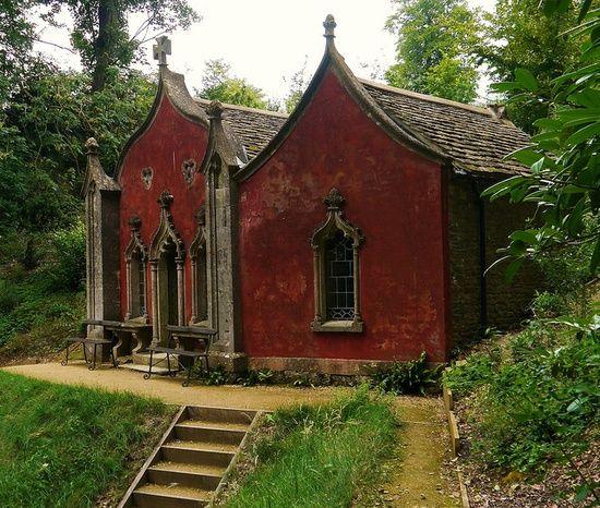 Red House, Garden Folly In Painswick Rococo Gardens