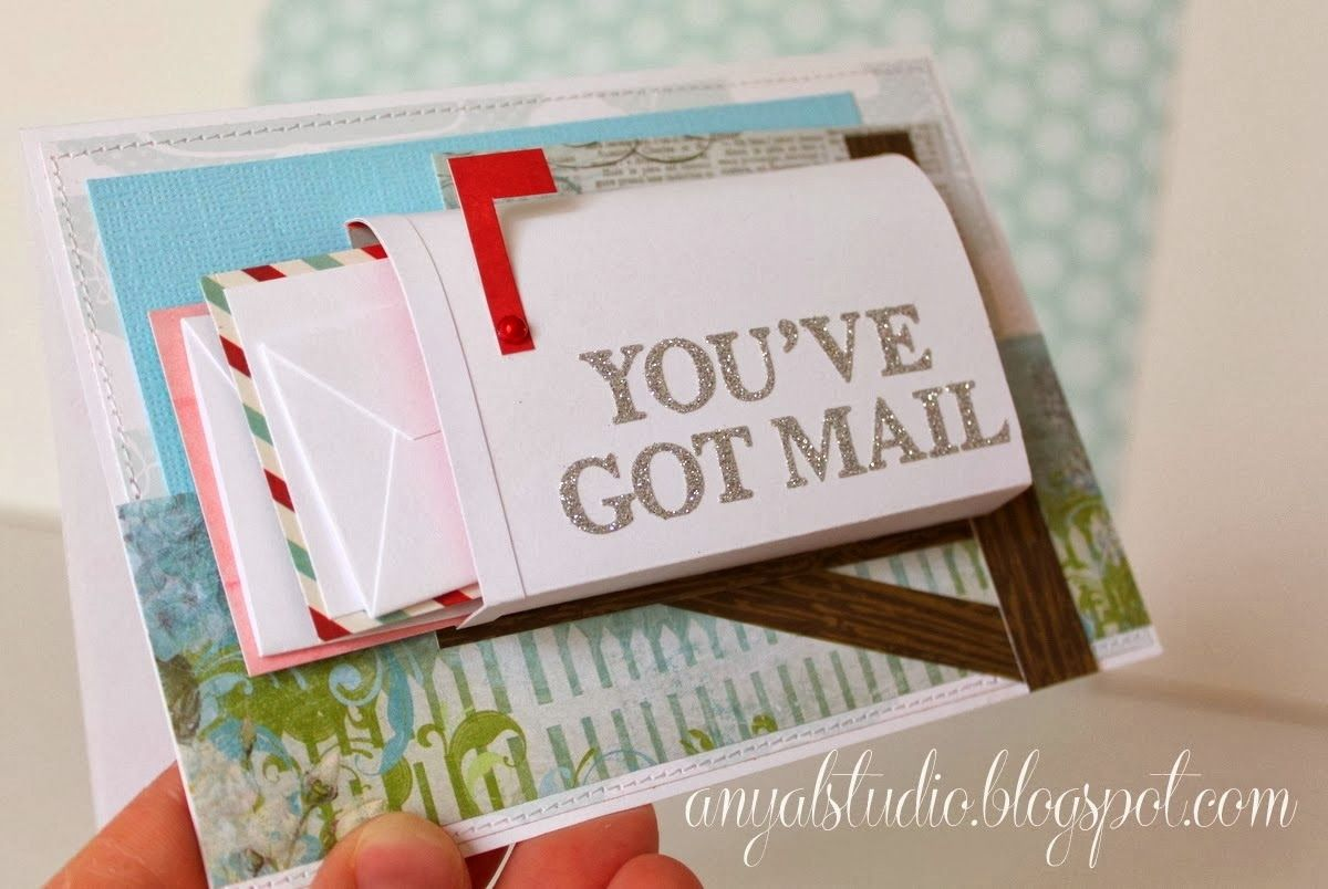 """""""Mail box"""" card tutorial... Unique birthday cards, Gift"""