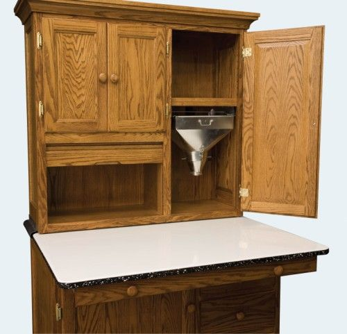 Reproduction Antique Furniture. Tiny House KitchensSewing CabinetHoosier ...