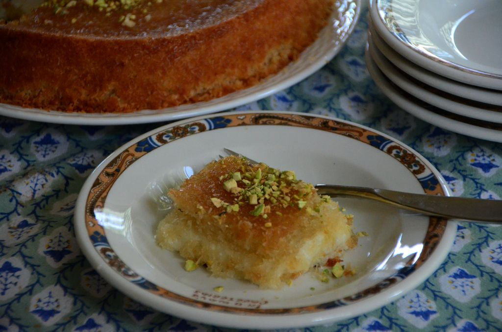 Lebanese Knafeh Recipe Lebanese Knafeh Jibneh With Orange Blossom