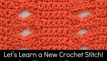 Bow Ties Stitch Tutorial and Afghan Square ~ The Stitchin' Mommy