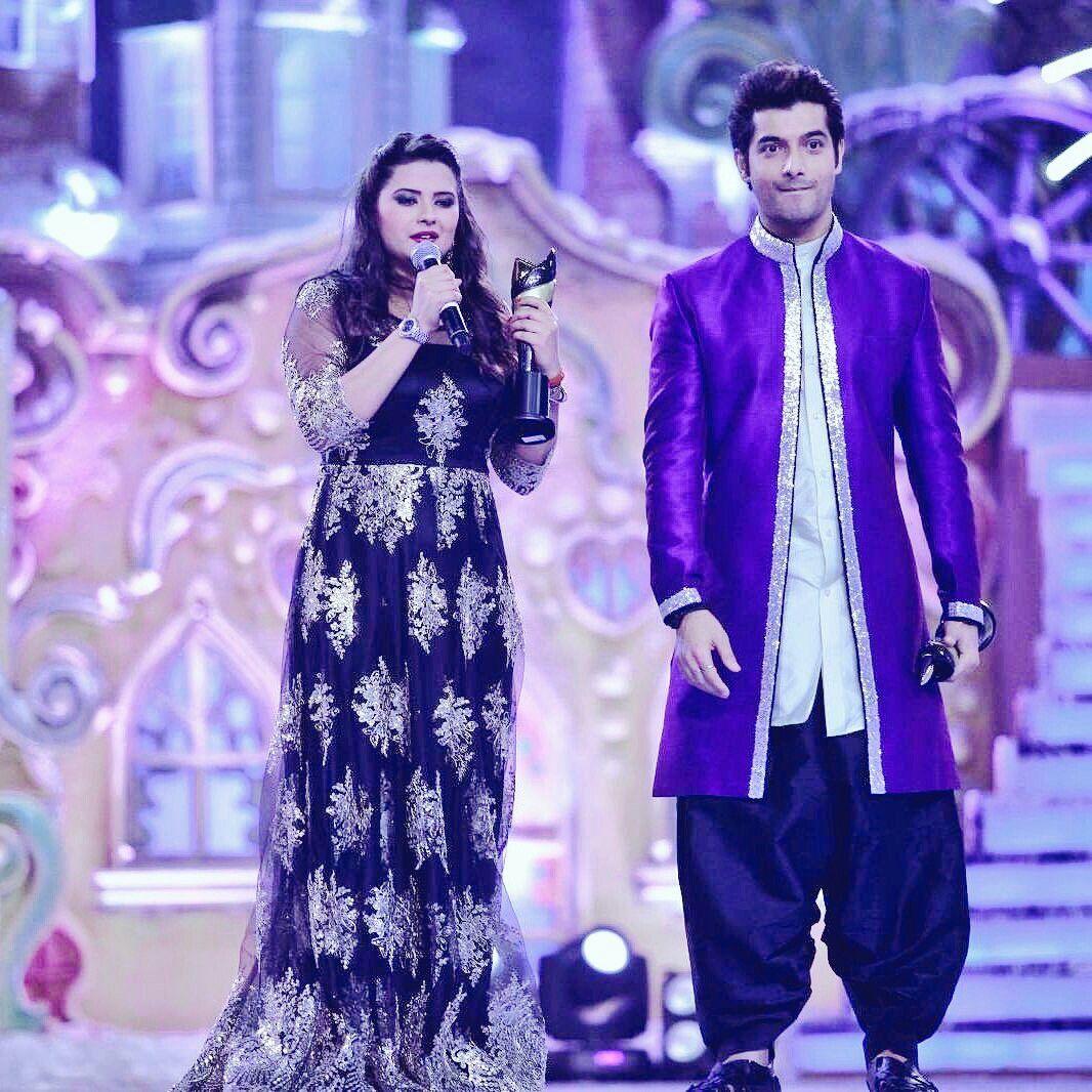 kratika sengar couple award sharad malhotra drama indian actress bhagya kumkum
