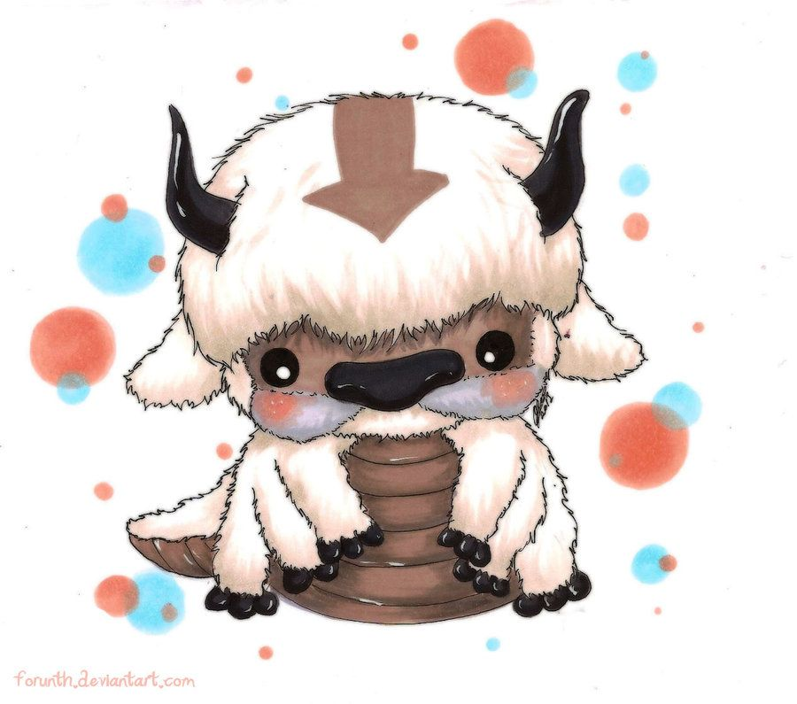 Avatar The Last Airbender Appa Being His Cute And Best Self Character From