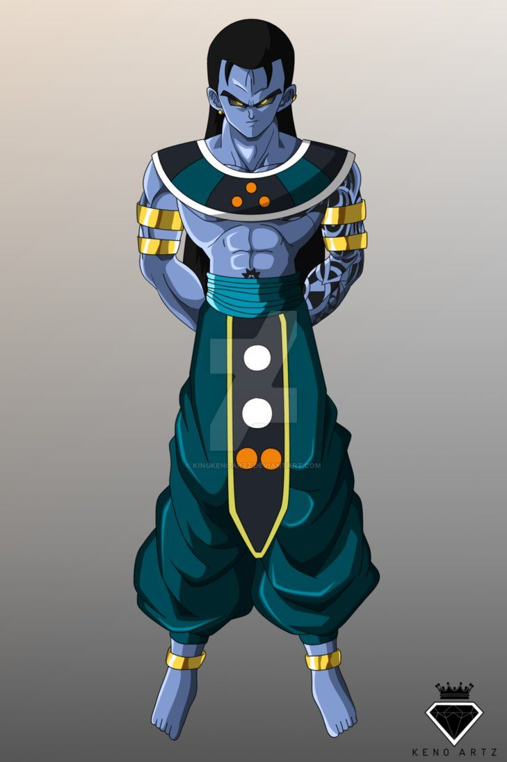 God Of Destruction Akrillus By Kingkenoartz Dragon Ball Content