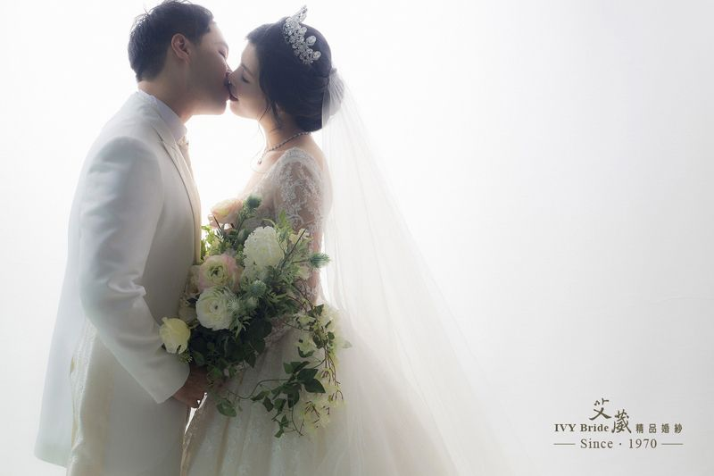 Ivy Bride Wedding Photo ウェディングフォト Romantic Studio Taiwan 台湾 花嫁 ブライダルフォト ウェディングフォト