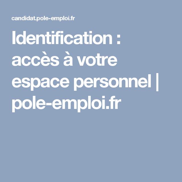identification   acc u00e8s  u00e0 votre espace personnel