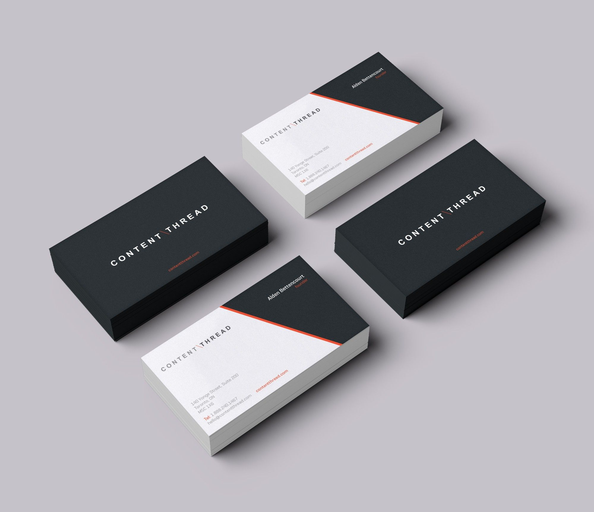 Create An Amazing Business Card For A New It Agency 99designs Modern Business Cards Business Card Inspiration Business Card Branding
