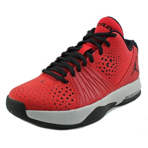 Jordan 5 AM Men Round Toe Synthetic Red Cross Training, Size: 8 D(