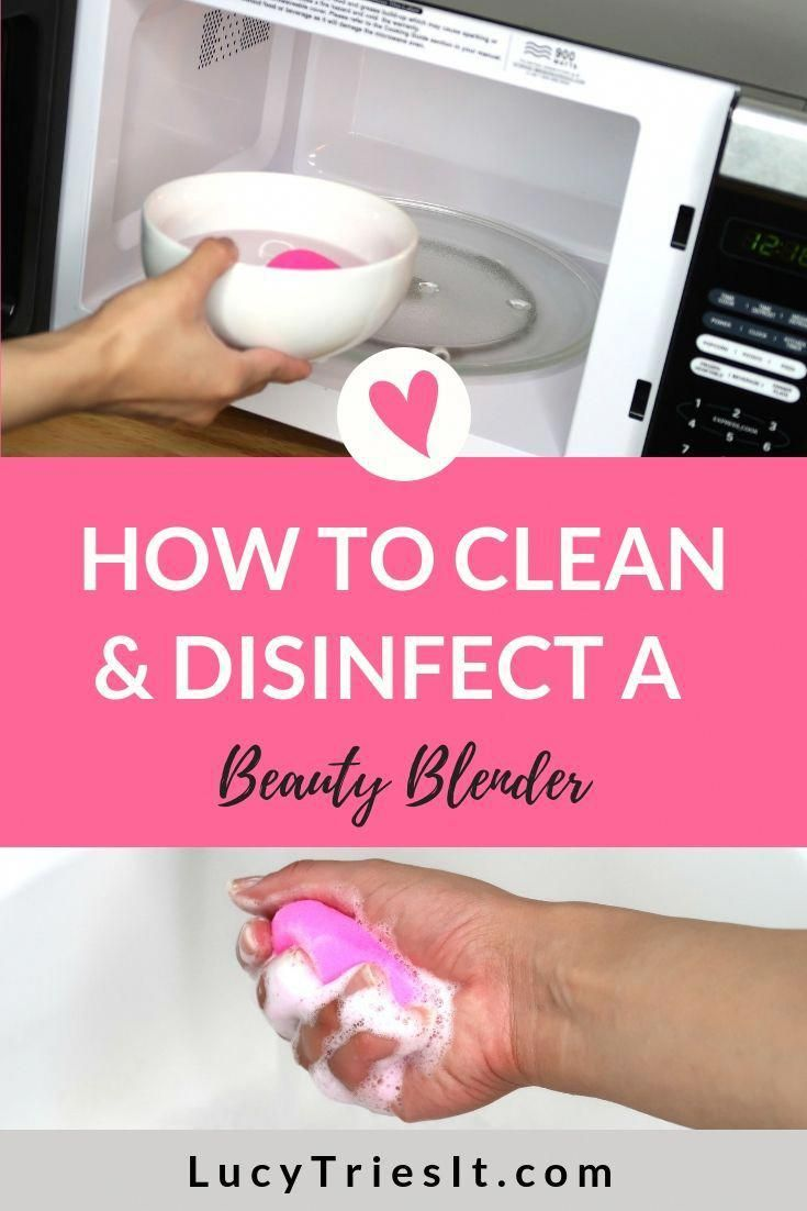 Best Way To Clean A Beauty Blender Sponge To Prevent