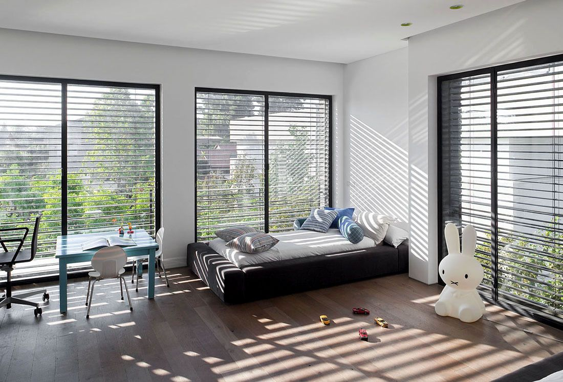 10*10 bedroom interior ramat hasharon house  by pitsou kedem architects   interior