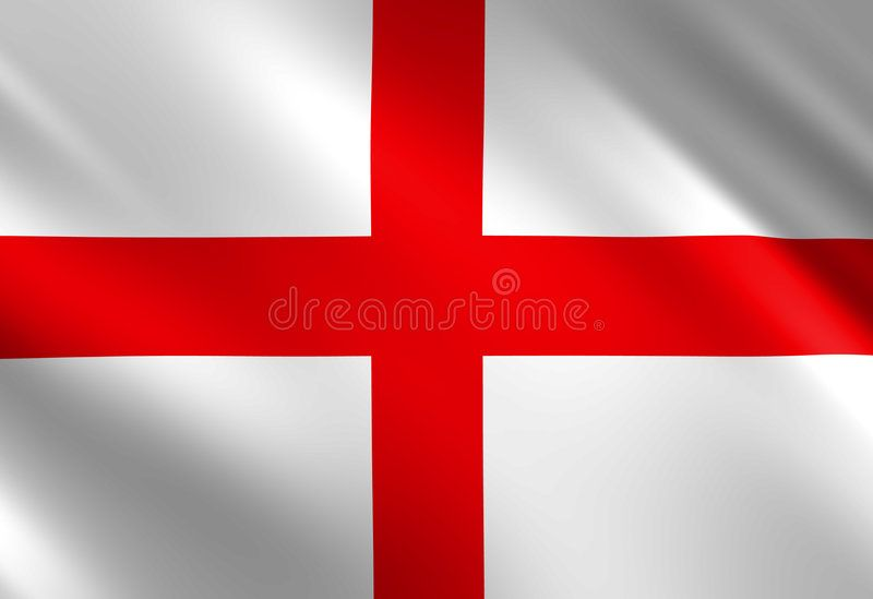 English Flag Waving In The Wind Sponsored Affiliate Paid English Waving Wind Flag In 2020 English Flag Flag Stock Illustration