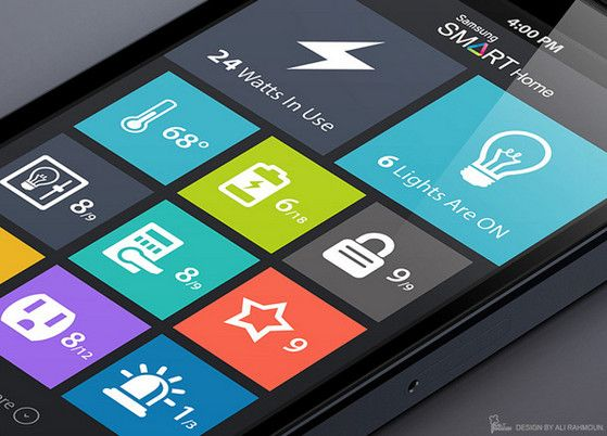 Use of Flat Design in Mobile App Interfaces, Best Examples   App ...