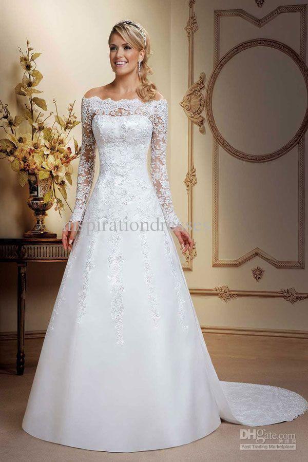 фото свадебных платьев с рукавами: 26 тыс изображений ...