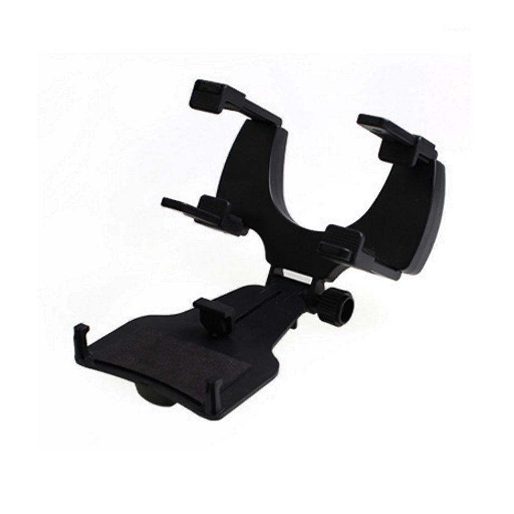 Car rearview mirror mount holder car reviews - Adjustable Car Rearview Mirror Clip Mount Gps Bracket Phone Holder Black Taille Unique